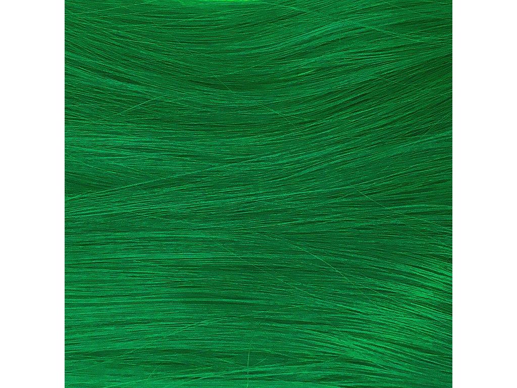 Rovný Mono Braid Kanekalon MBDarkGreen Tmavě zelená