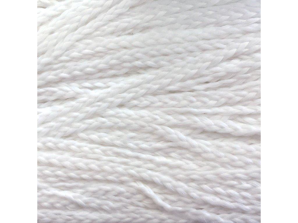 Rovný Micro Zizi Kanekalon MZR600 Sněhově bílá
