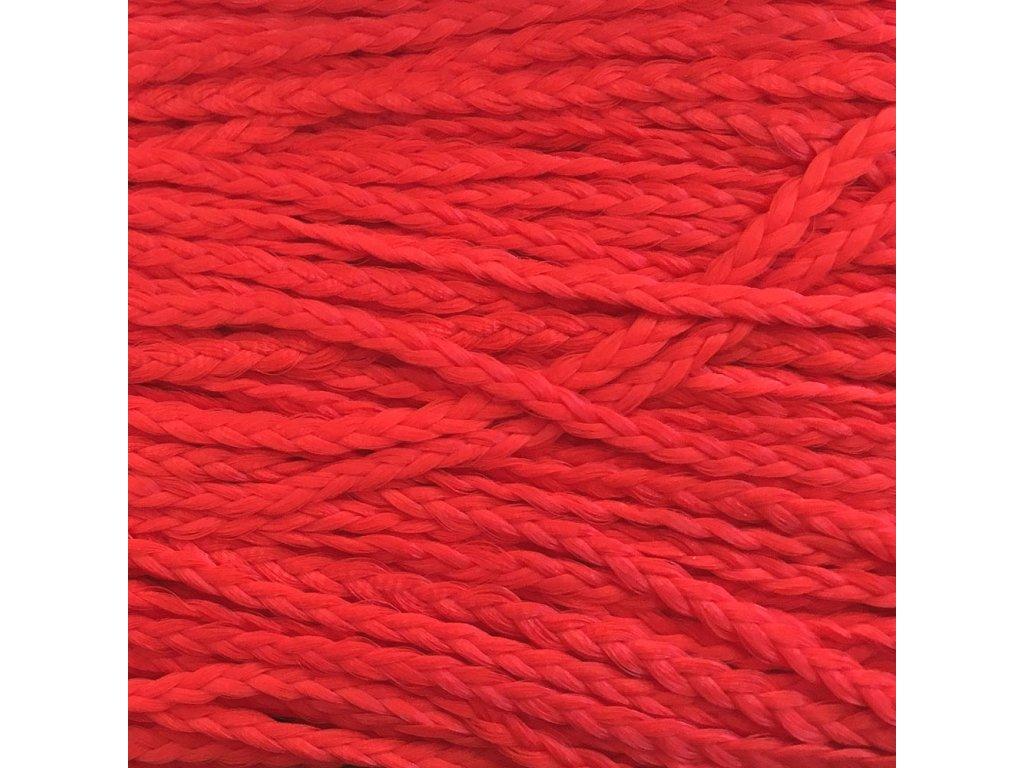 Rovný Micro Zizi Kanekalon MZRF19 Červená