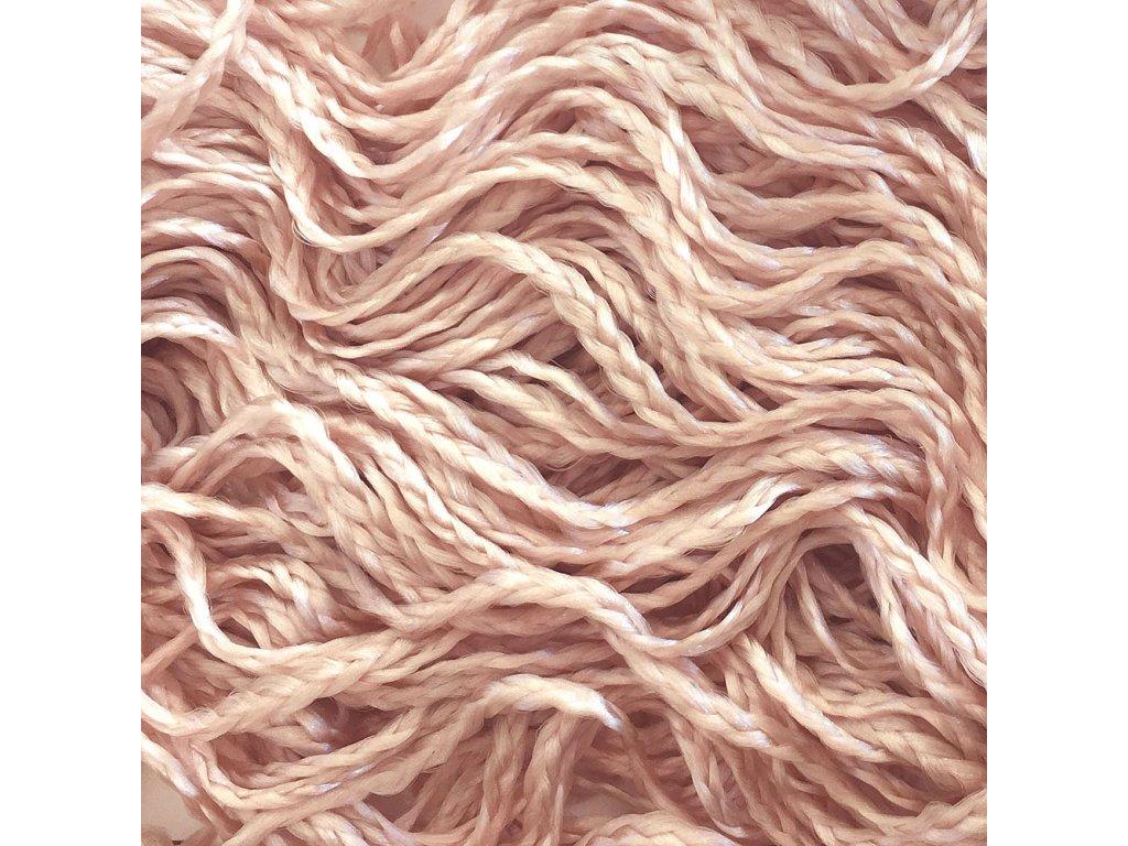 Vlnitý Micro Zizi-C Kanekalon MZ307 Světle růžová