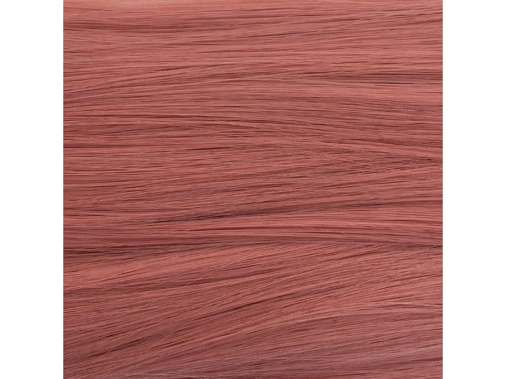 Rovný Mono Braid Kanekalon MB2312 Vintage pink