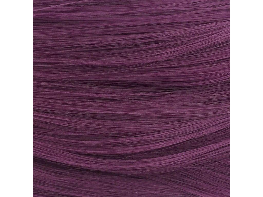 Rovný Mono Braid Kanekalon MB1716 Vínovofialová