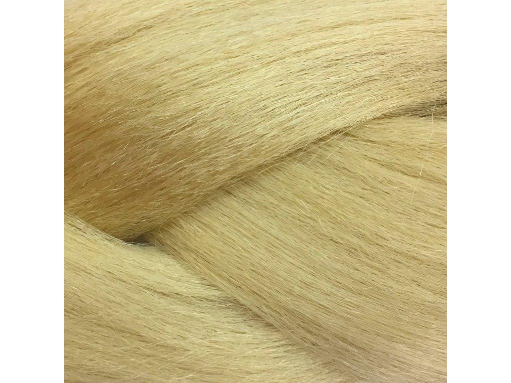 Ultra Jumbo Braid Kanekalon KBXXL613 Plavá blond