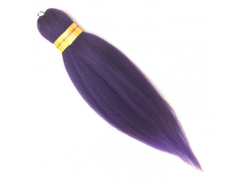 100% Jumbo Braid Kanekalon sestříhaný Fialová/sv.fialová OM/Purple