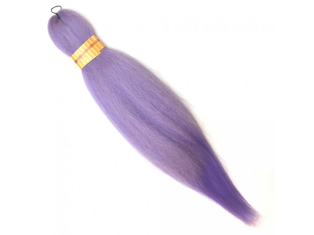 100% Jumbo Braid Kanekalon sestříhaný Světle fialová OM/Lavender