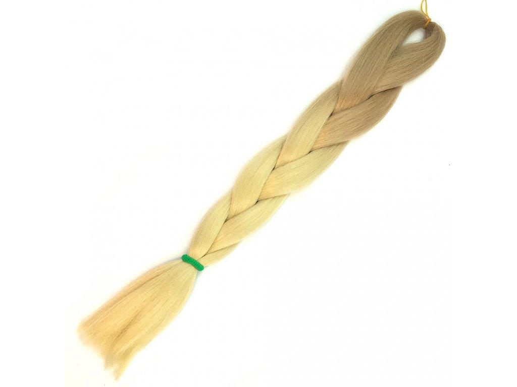 Ombre Jumbo Braid Kanekalon X2-1 Slámová blond-Plavá blond