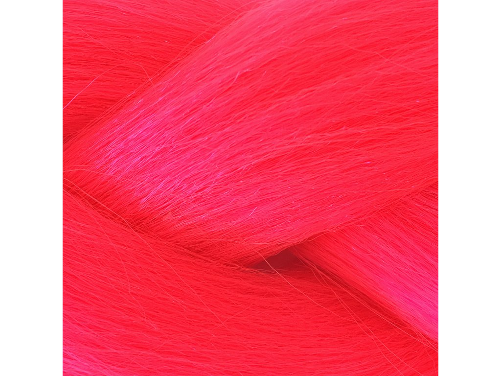 Ultra Jumbo Braid Kanekalon KBXXLPink Zářivá růžová