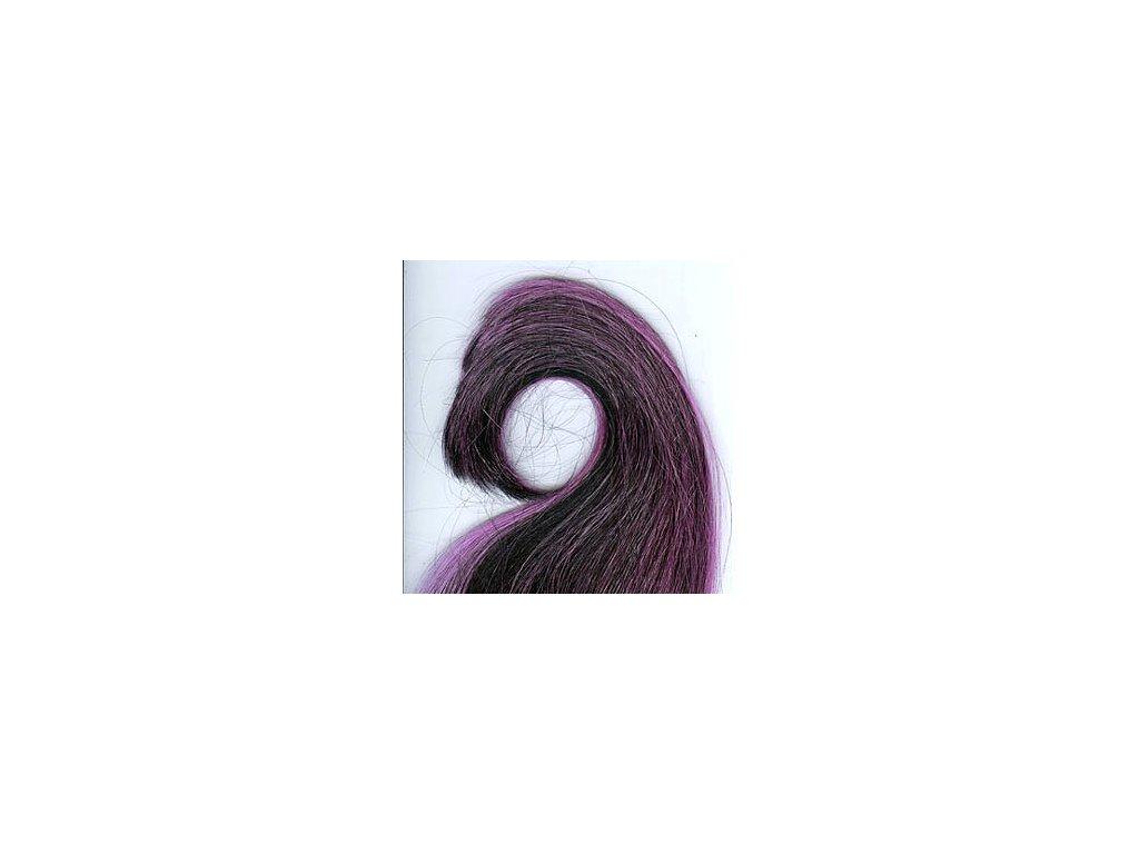 Rovný Kanekalon Pony - KP1/Purple