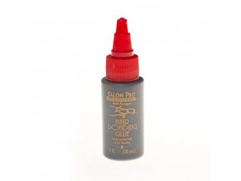 Vlasové lepidlo latexové SalonPro tmavé na prodlužování 30ml