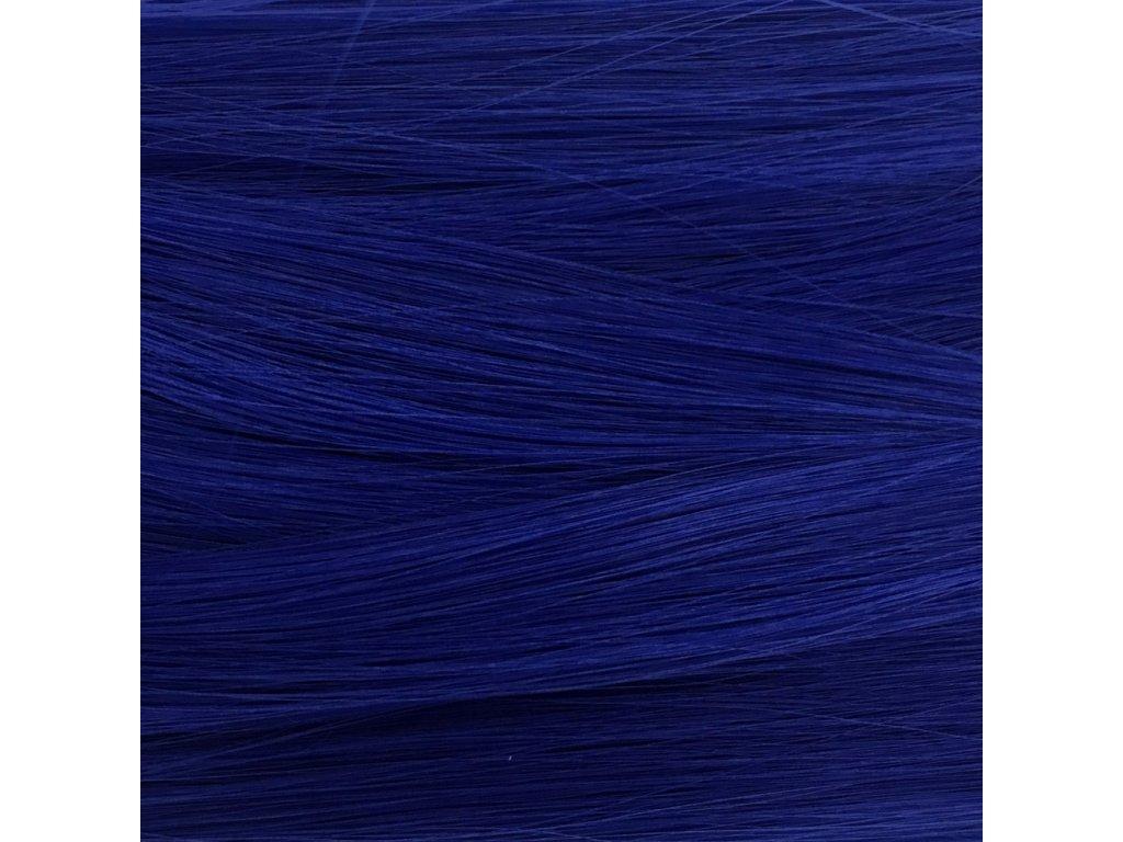 Rovný Mono Braid Kanekalon MB3952 Modrá