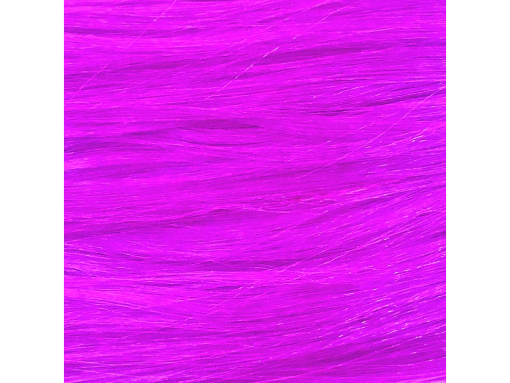Rovný Mono Braid Kanekalon MB3533 Zářivá fialová