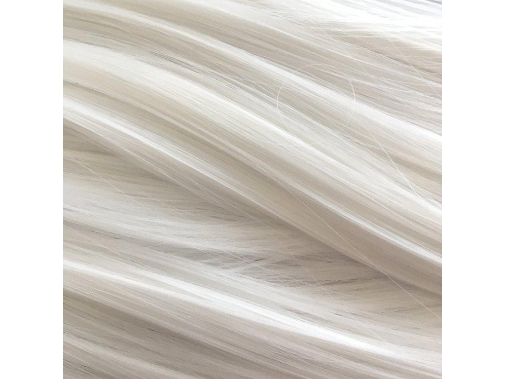 Rovný Mono Braid Kanekalon MB60 Sněhová bílá