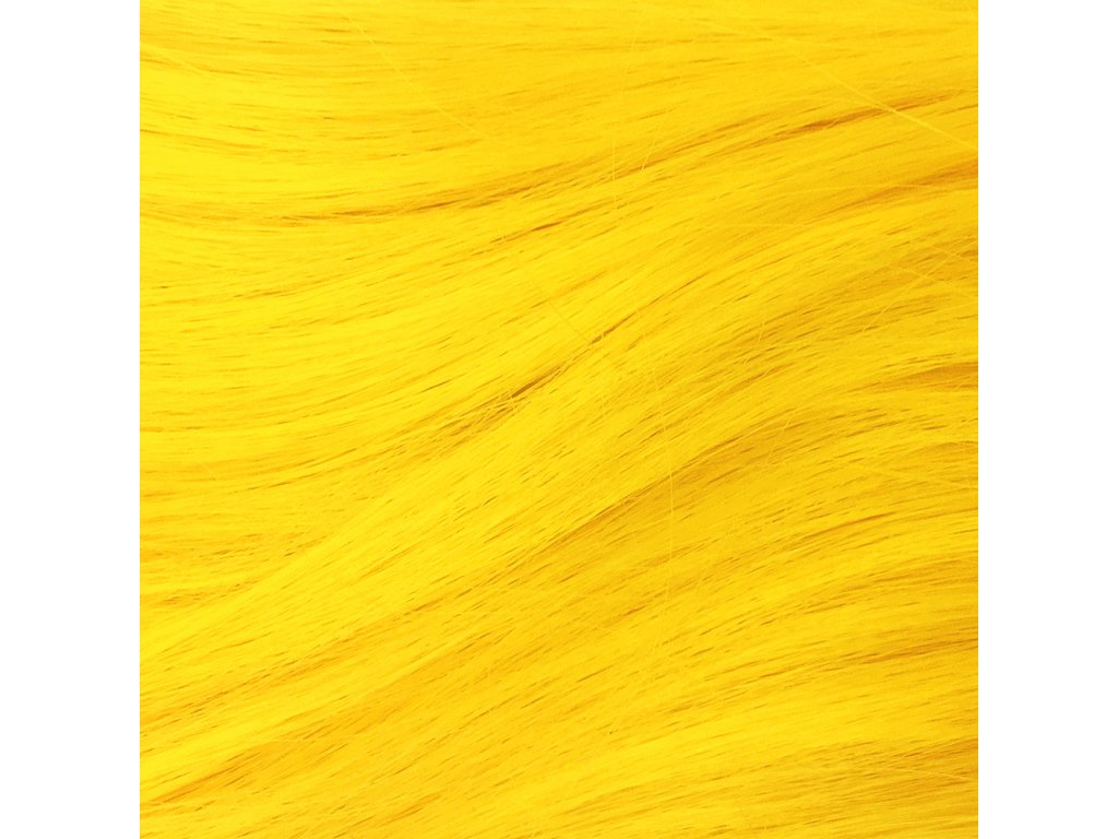 Rovný Mono Braid Kanekalon MBYellow Žlutá