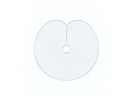 Ochranné plastové terčíky pro metodu Keratin 10ks