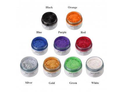 Barvící vosk na vlasy černý 120gr