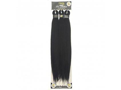 3x 100% EZ braid 1 Černá 116cm