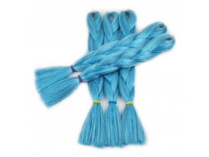 Glitters Jumbo Braid Kanekalon modrý Blue