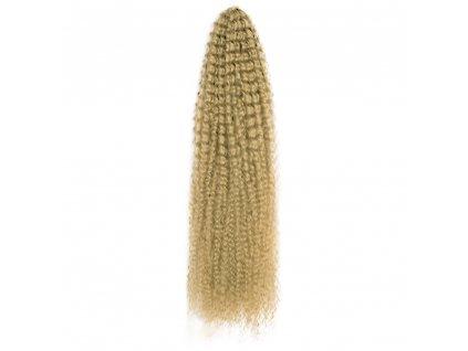 Vlnitý Curly bulk Kanekalon 75cm CB-24 Tmavá blond