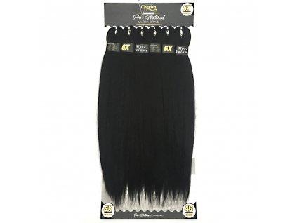 6x 100% EZ braid 1 Černá 116cm
