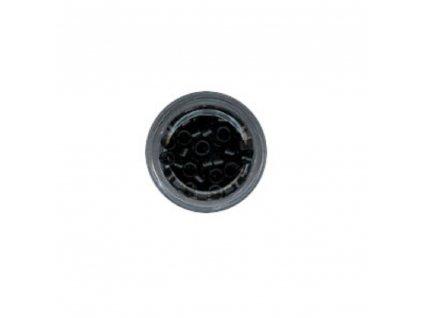 Kroužky Micro Ring 4.0mm, protiskluz, 100ks, černé