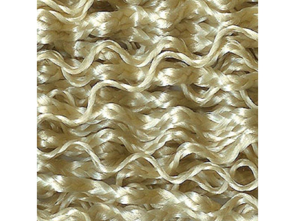 Vlnitý Micro Zizi Kanekalon  MZ613 Plavá