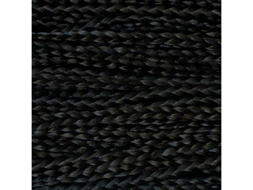 Rovný Micro Zizi Kanekalon MZR1 Čierná