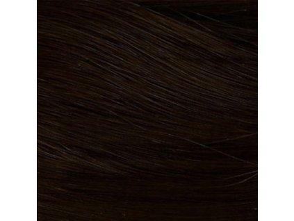 Rovný Kanekalon  MB4 Tmavo hnedá