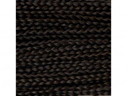 Rovný Micro Zizi Kanekalon MZR2 Čierno hnedá