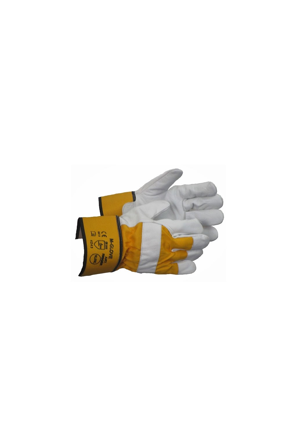 m glove rigger yellow