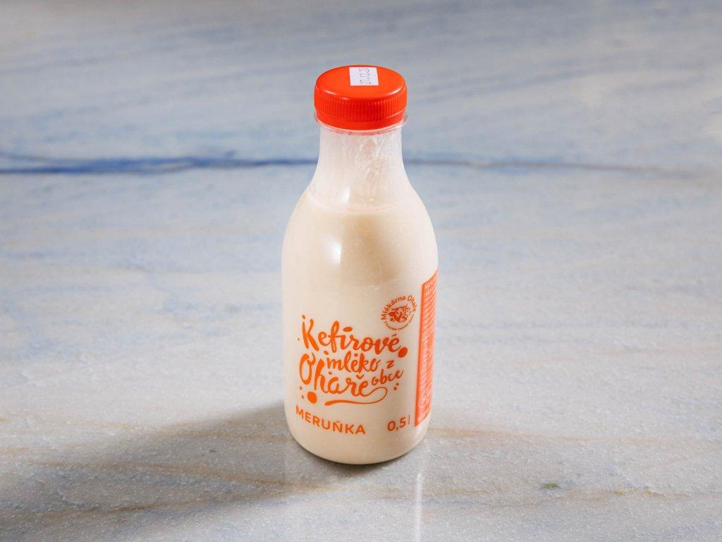 mléko meruňka