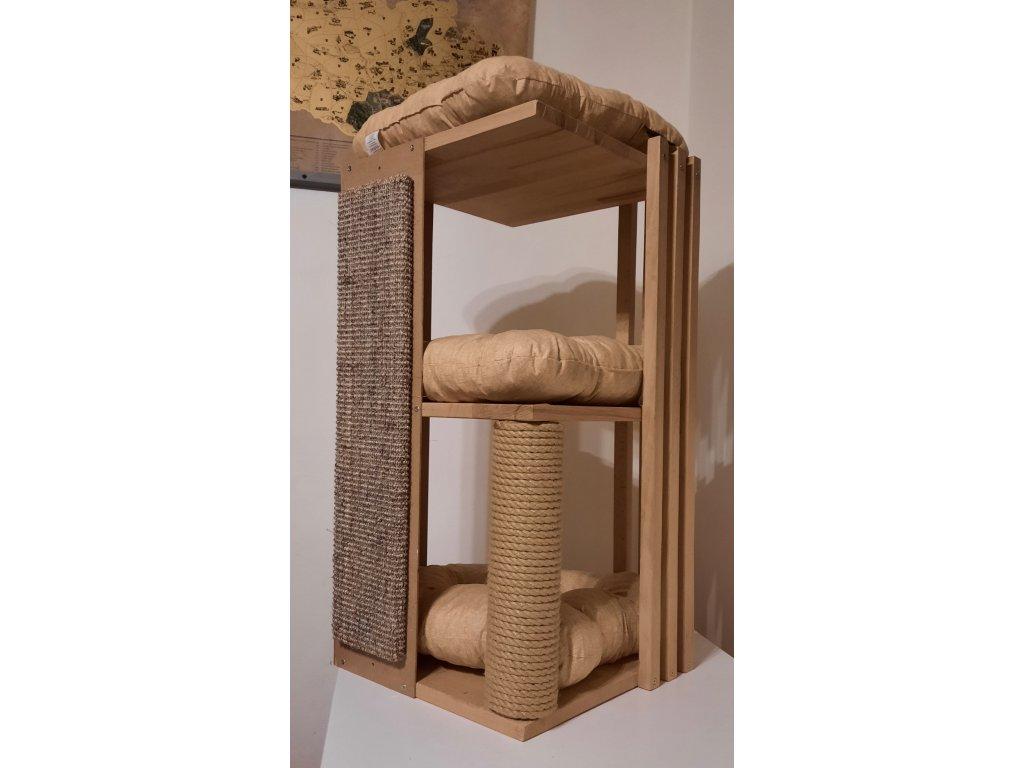 Kočičí pelíšek (škrabadlo)