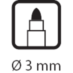 4352-valcovy_hrot_prum_3_mm