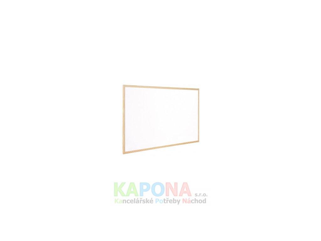 Tabule magnetická nástěnná, dřevěný rám