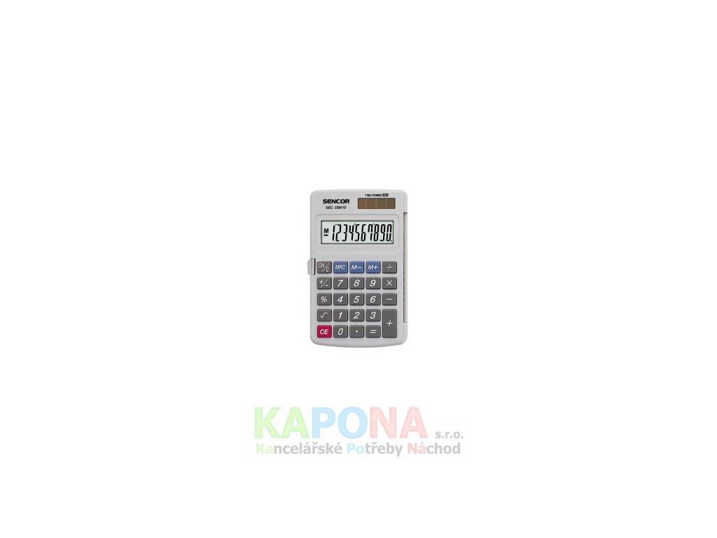 Kalkulačka SENCOR kapesní SEC 229/10