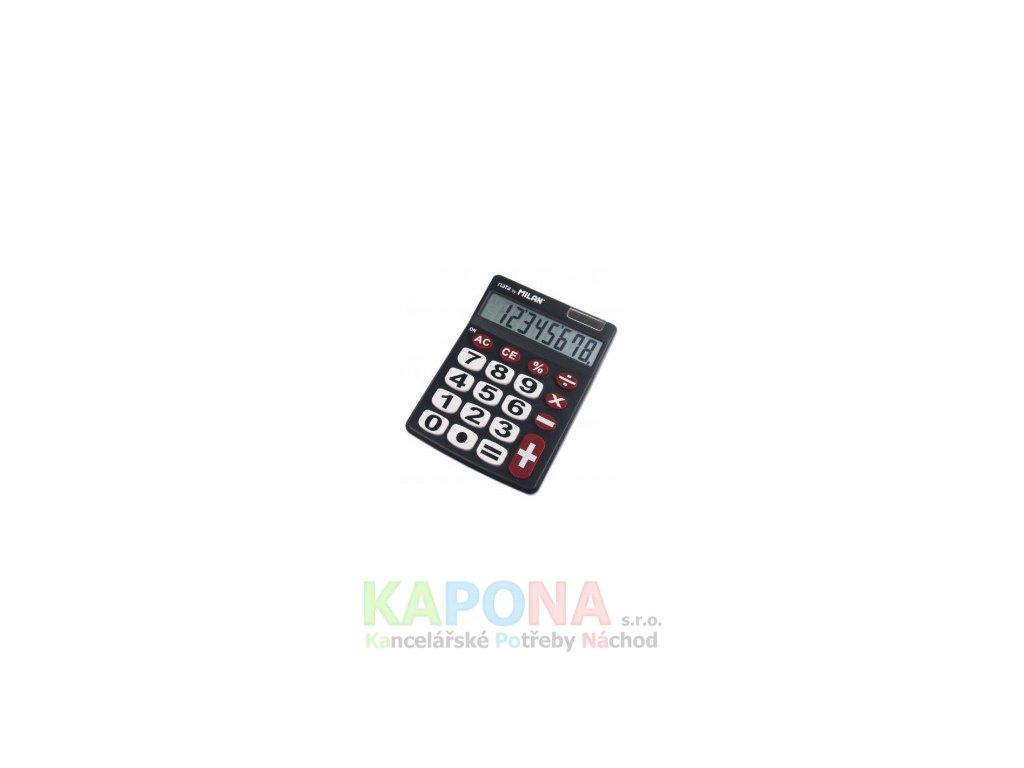 Kalkulačka Milan 151708 černá