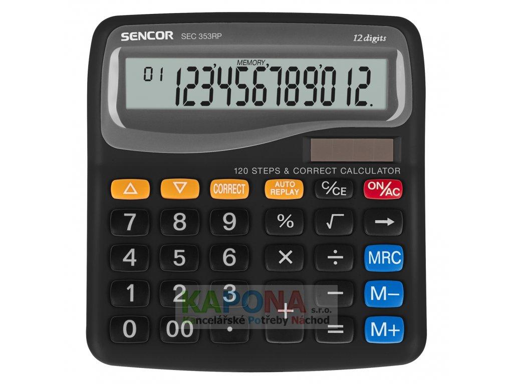Kalkulačka SENCOR stolní SEC 353RP