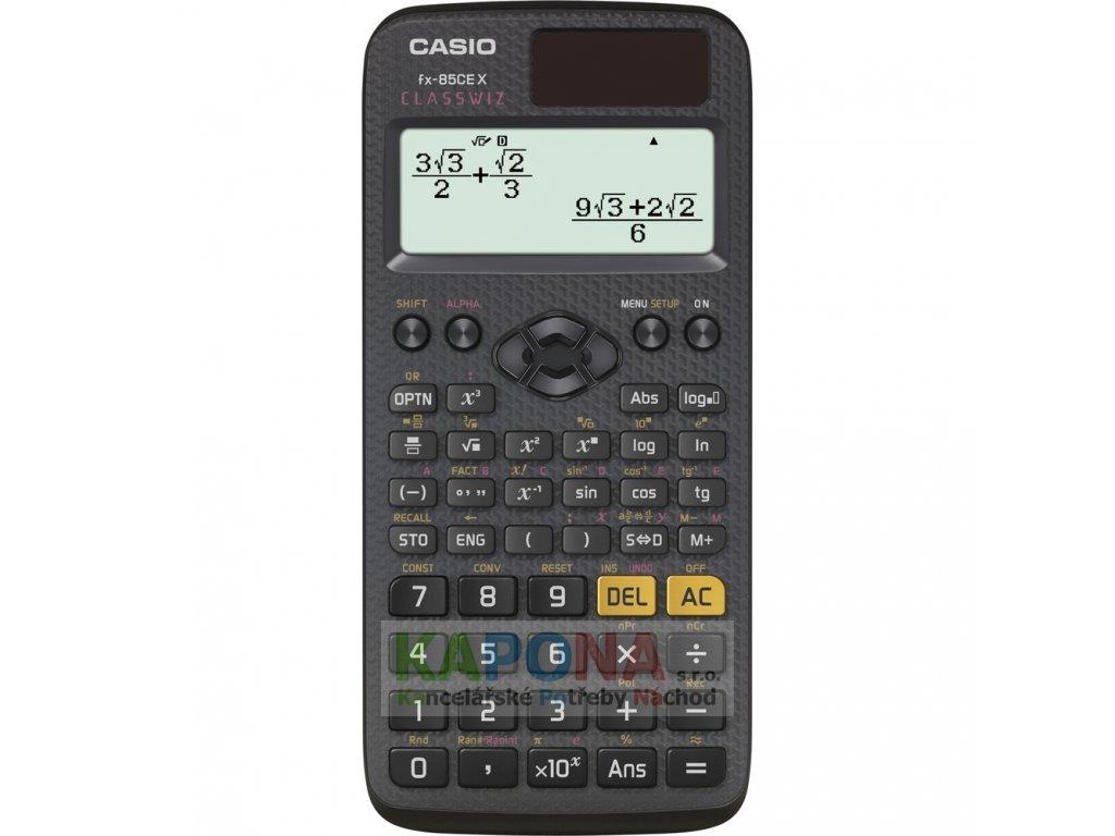 Kalkulačka CASIO vědecká FX-85 CE X