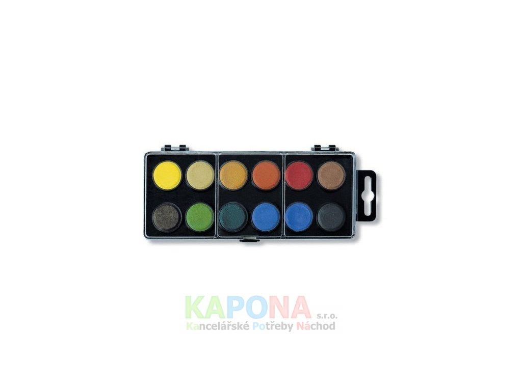 Vodovky 12 barev (Popis malé 22,5mm)