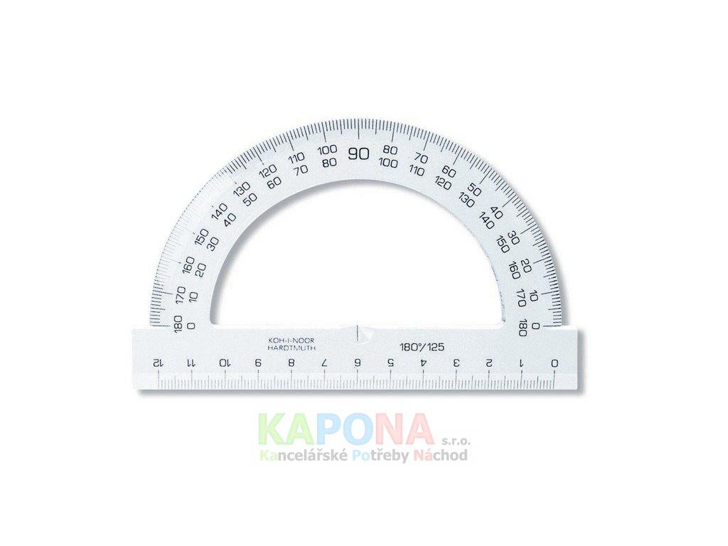 Úhloměry Koh-I-Noor 180° (Popis 125mm/barevný)