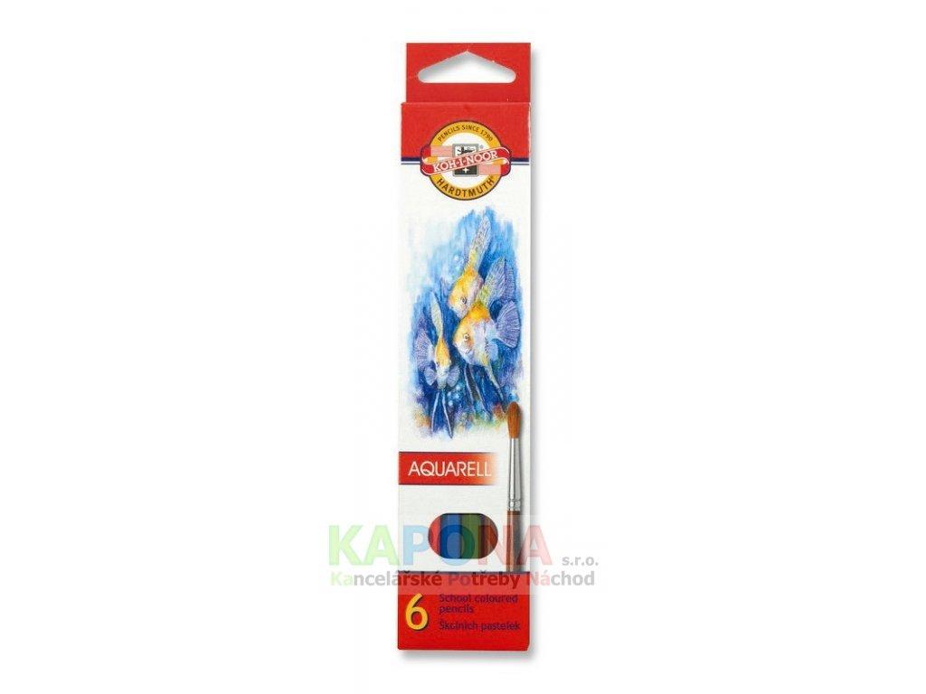 Pastelky Akvarel Koh-I-Noor, různý počet barev
