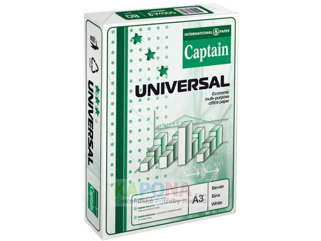 1b bumaga captain a3 universal ya65803