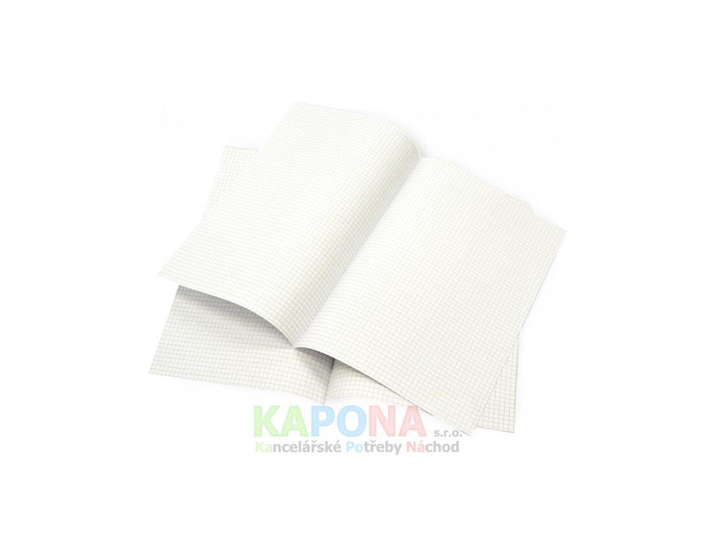 papir dvojlisty papiru ctvereckovany 1388