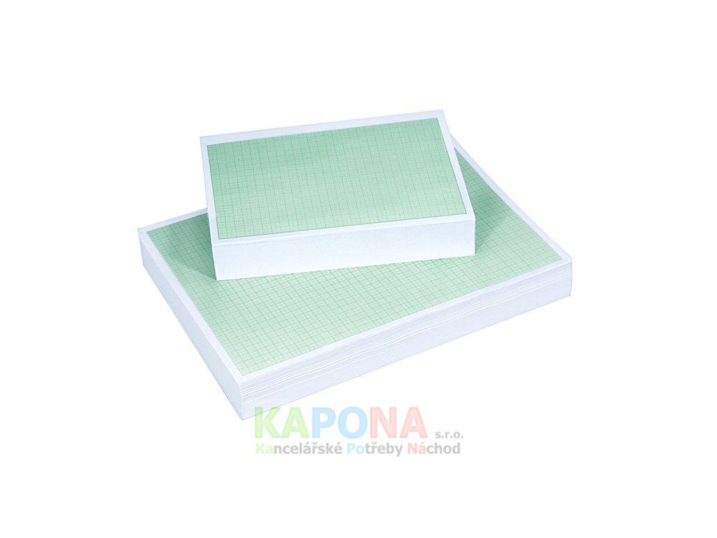 Papír milimetrový - arch A4 100 listů