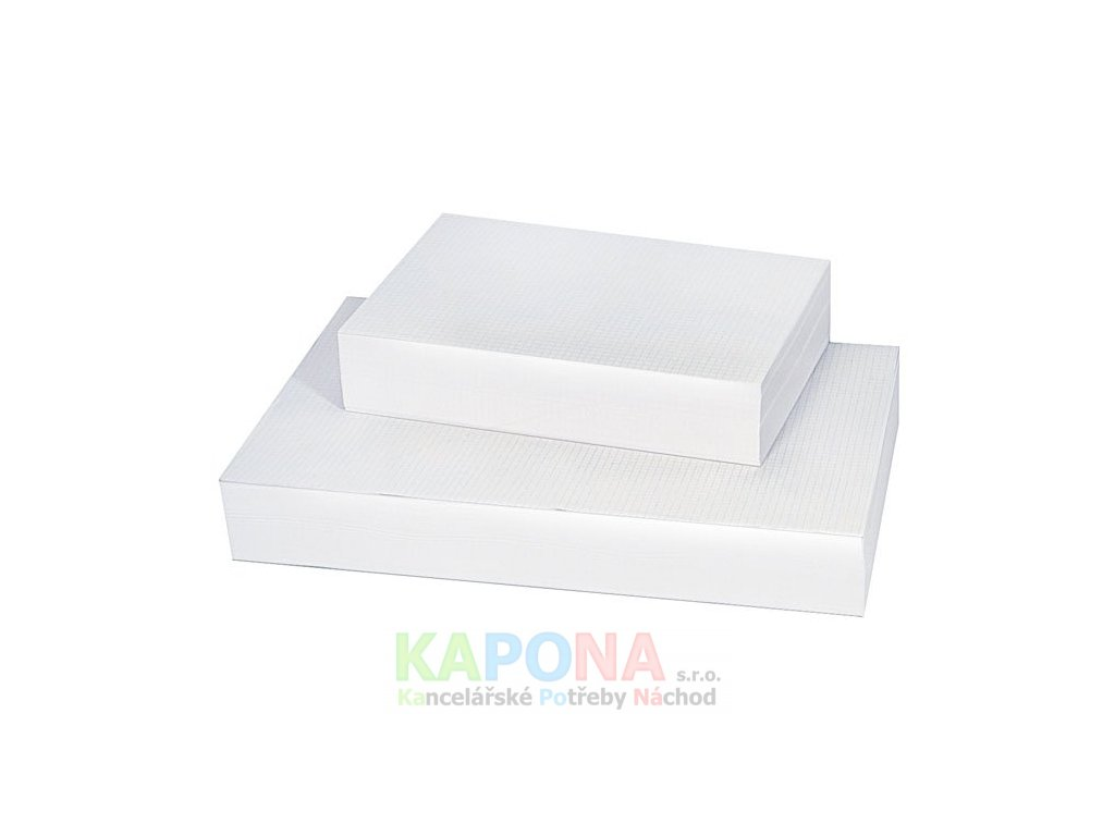 Karton kreslící bílý 220g, různé formáty (Formát A4, Popis 200ks)