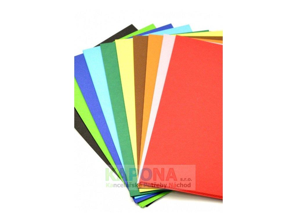 2810 karton kreslici barevny a4 225g mix barev