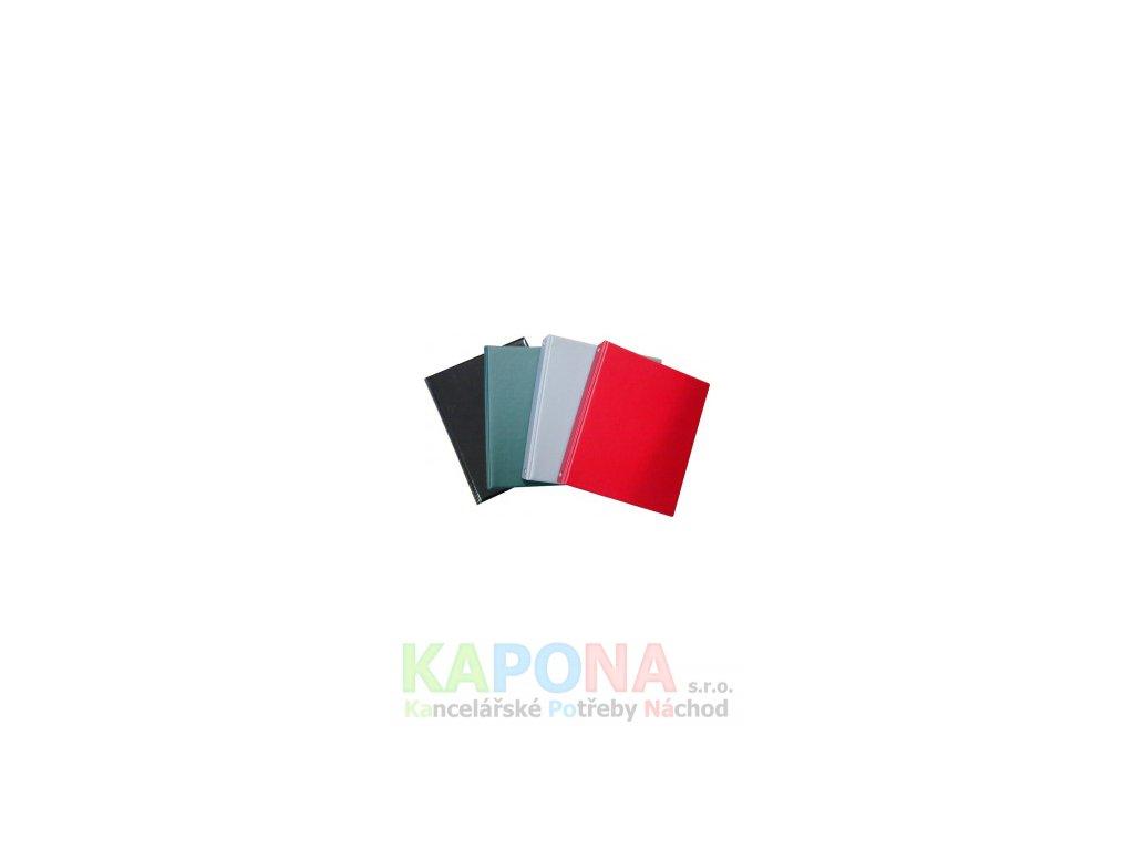 2933 blok karis a5 pvc jednobarevny mix barev