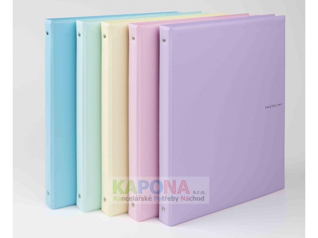 Blok karis A5 PVC PASTELINi, různé barvy