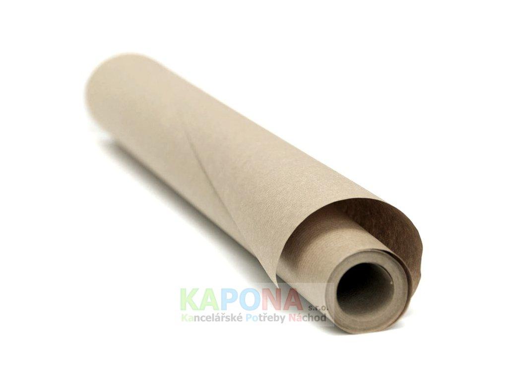 Balicí papír v roli 100cm, 5m 90g šedák