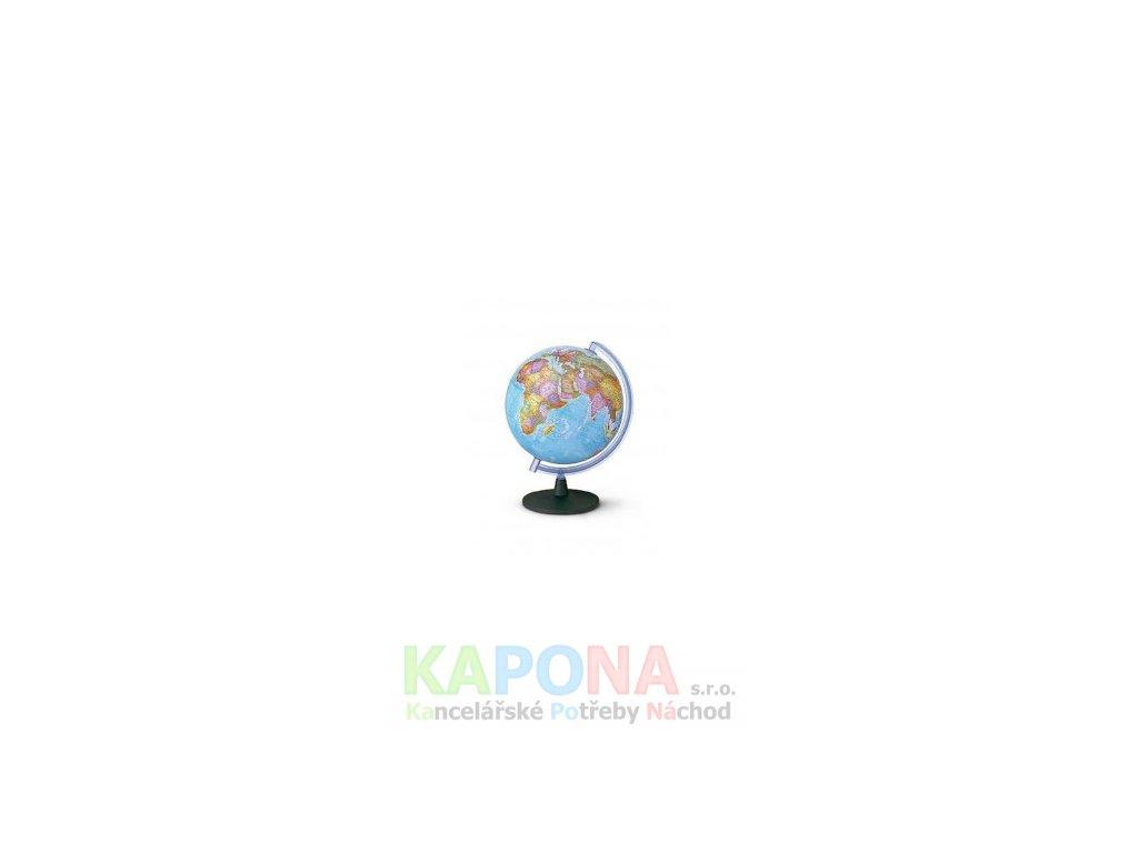 Globus geografický 25cm