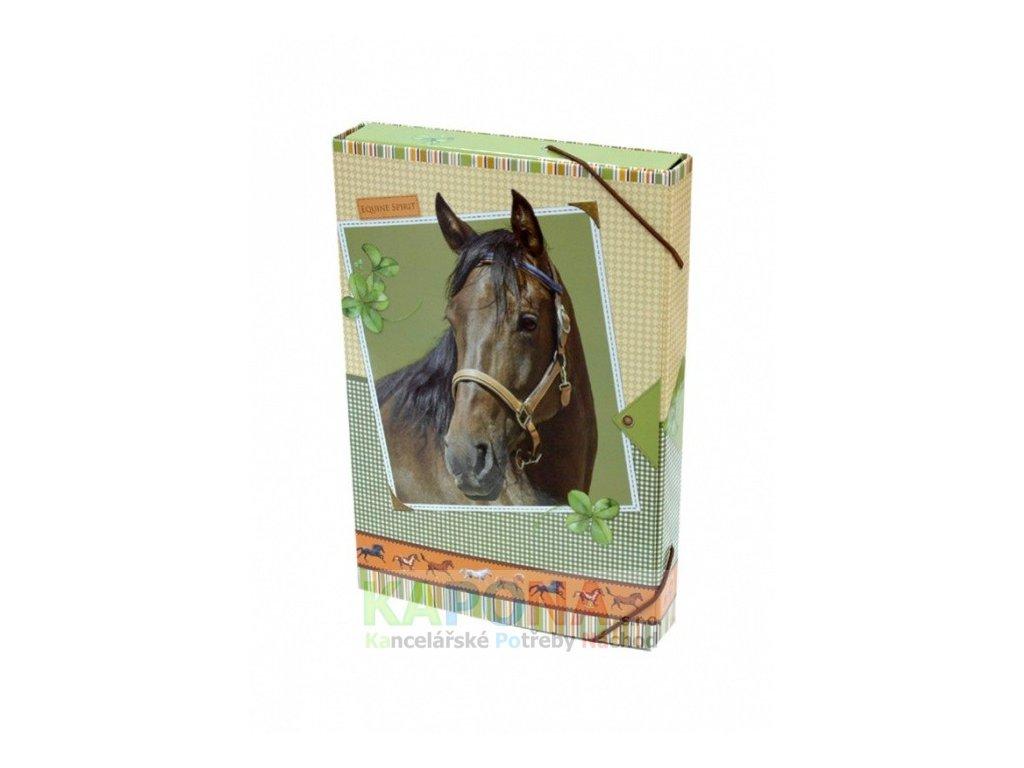Desky na sešity BOX A5 Kůň Equine Spirit